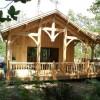 La Cabane au bord du lac, Biscarosse, Les Landes (40)