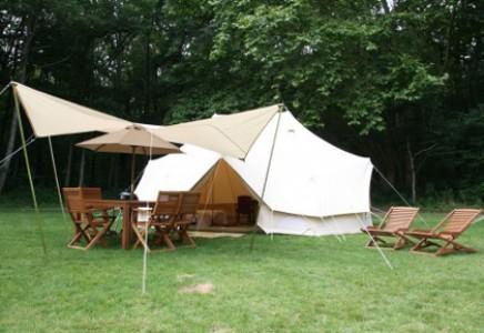 Tentes lodge du Camping**** Le Brévedent, Les Castels, Calvados (14)