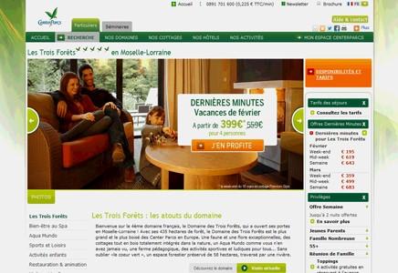 Center Parcs, Les Trois Forêts,Cottages, Moselle (57)
