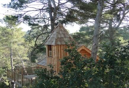La Cabane Ecureuil A Fleur de Bois, Allauch, Bouches du Rhône (13)