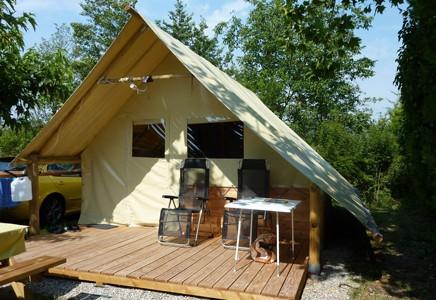 Camping La Sorguette, Tipis, Tentes Lodge, Pods, Carré d'ailleurs, Vaucluse (84)