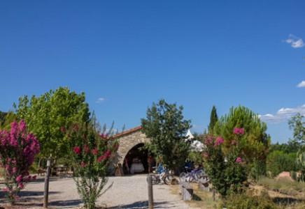 Camping du Domaine d'Anglas, Roulotte, Chalets, Lodges, Hérault (34)