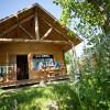 Camping Huttopia Font-Romeu, Pyrénées Orientales, Cabanes, Tentes canadiennes