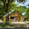 Campement Huttopia Dieulefit, Drome, Cabanes, Cahuttes, Tentes Toile et Bois