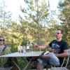 Camp Forestier ONF Huttopia Lanmary, Dordogne, Cabanes, Cahuttes, Tentes