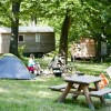 Camping Huttopia Versailles, Yvelines, Cabanes, Cahuttes, Roulottes, Tentes